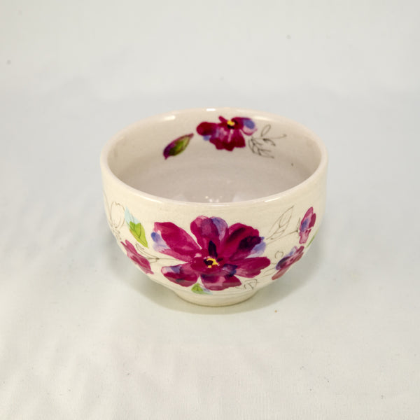 Japanese Tea Cup - Flower Pink