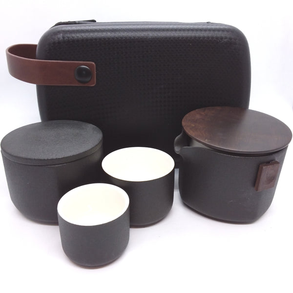 Travel Set - Four Piece - Black