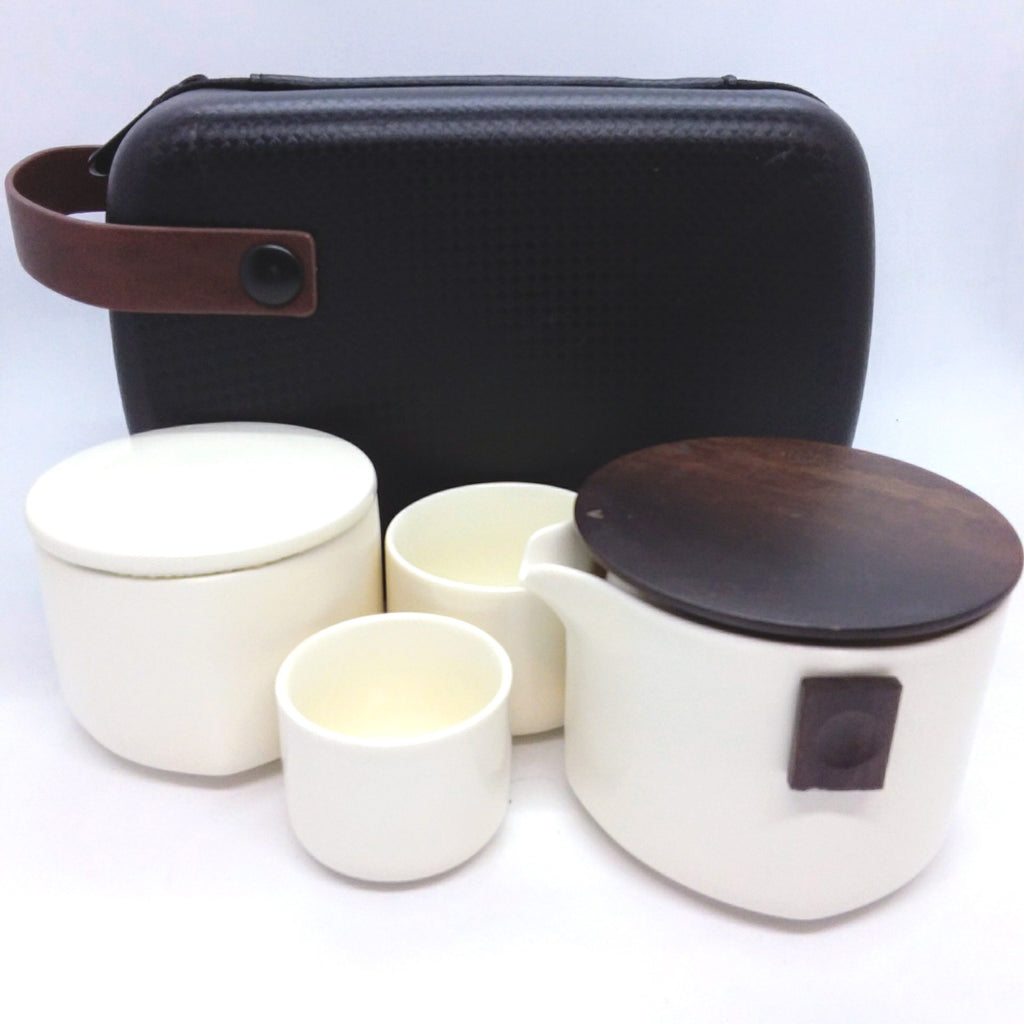 Travel Set - Four Piece - White