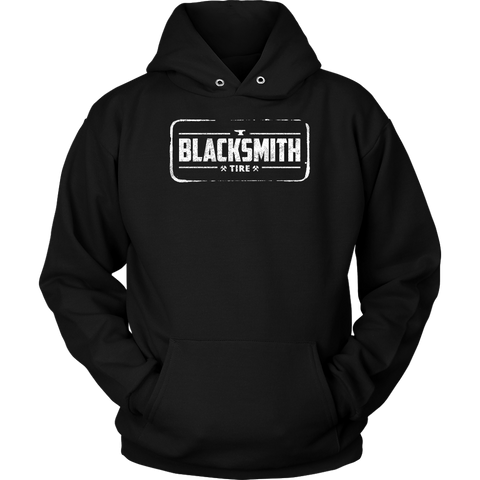 Blacksmith Tire Logo Stamp Hoodie