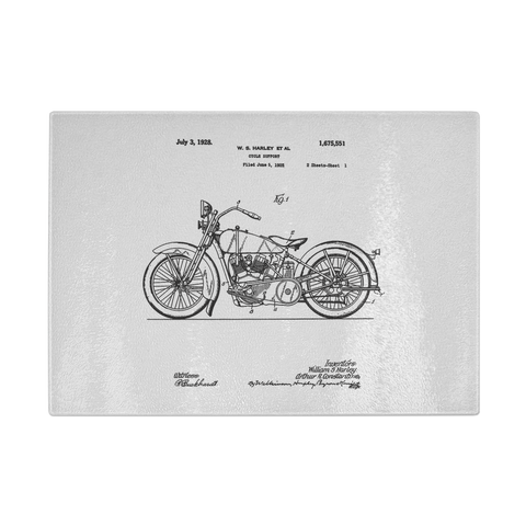 Harley Patent Cutting Board