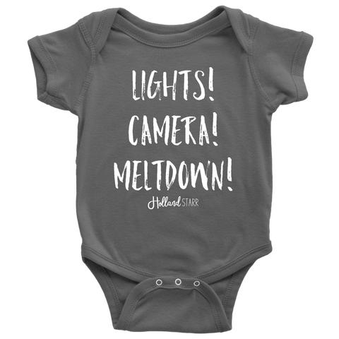 Lights Camera Meltdown Bodysuit