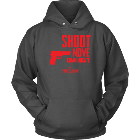Shoot Move Communicate 9MM Hoodie