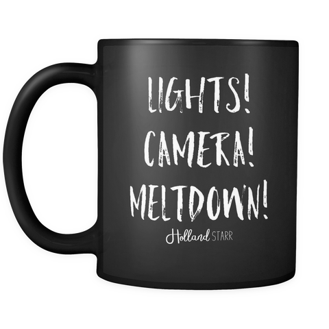 Lights Camera Meltdown Mug