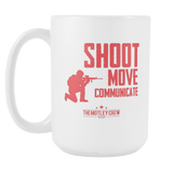 Shoot Move Mug Large
