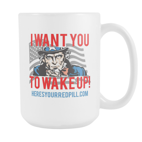 Wake Up Mug Large
