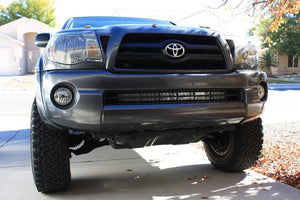 2005-2015 Toyota Tacoma 32 Lower Bumper Hidden LED Light Bar Brackets/Combo - Cali Raised LED
