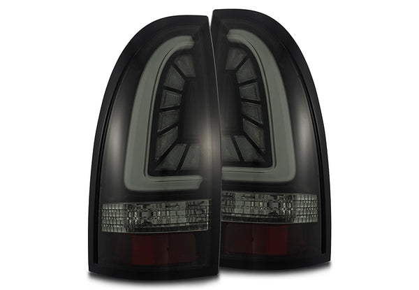 2005-2015 Toyota Tacoma PRO-Series LED Tail Lights Jet Black