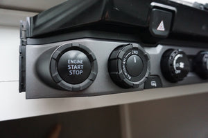 Start Button Ring + 4x4 Knob (2016+ Tacoma / 2020+ Tundra)