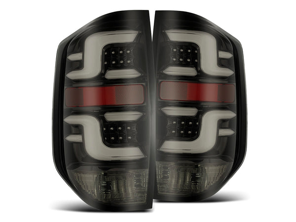 2014-2021 Toyota Tundra PRO-Series LED Tail Lights Jet Black- CURRENTLY OUT OF STOCK