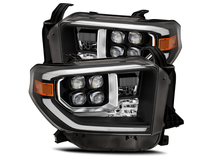 2014-2020 Toyota Tundra NOVA-Series LED Projector Headlights - Cali Raised LED