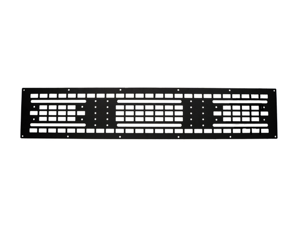 Cali Raised LED Roof Rack Mounted MOLLE Gear Panel - Cali Raised LED