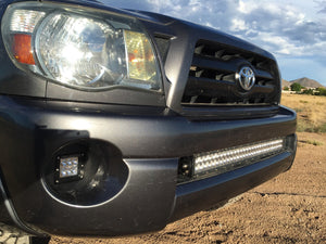 2005-2011 Toyota Tacoma LED Fog Light Pod Replacements Brackets/Combo - Cali Raised LED