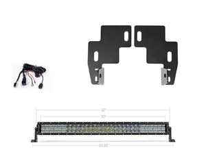 Combo chevy bracket wiring lighting light bar bracket for chevy