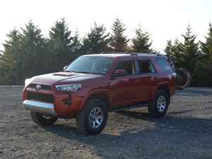 "2014-2020 Toyota 4Runner 0 Degree Bolt On ""Step"" Rock Sliders"