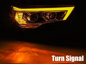 2014-2020 Toyota 4Runner PRO-Series Projector Headlights - Cali Raised LED