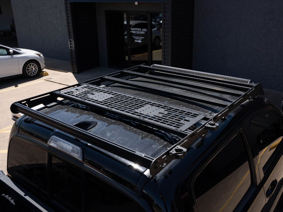 Prinsu Roof Rack Mounted MOLLE Gear Panel - Cali Raised LED