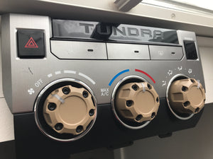 Climate Knobs (2014+ Tundra) - 3 PACK