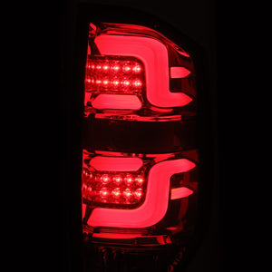 2014-2021 Toyota Tundra PRO-Series LED Tail Lights Red Smoke