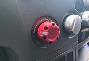 Climate Knobs (2005-2015 Tacoma) - 1 PACK AJT Design