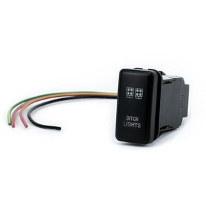 "Toyota OEM ""DITCH LIGHTS"" Switch - Cali Raised LED"