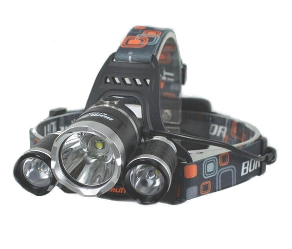 3,000 Lumen Rechargeable Multifunction LED Headlamp - Cali Raised LED