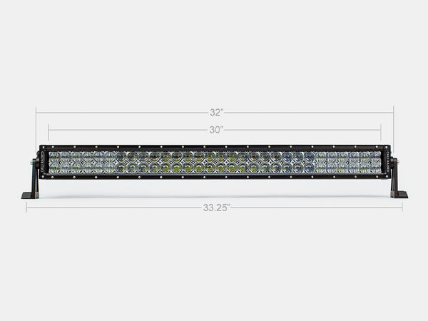 "32"" Dual Row 5D Optic OSRAM LED Bar"
