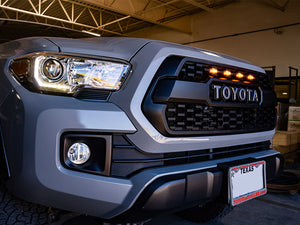 2016-2021 Toyota Tacoma TRD Pro Grille Raptor LED Light Kit