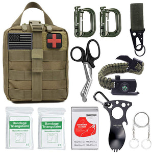 11 In 1 Tactical Molle Survival Kit - Cali Raised LED