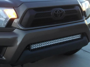 "2005-2015 Toyota Tacoma 32"" Lower Bumper Flush LED Light Bar Brackets/Combo - Cali Raised LED"