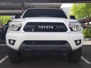 2012-2015 Toyota Tacoma Faux PRO Grille - Cali Raised LED