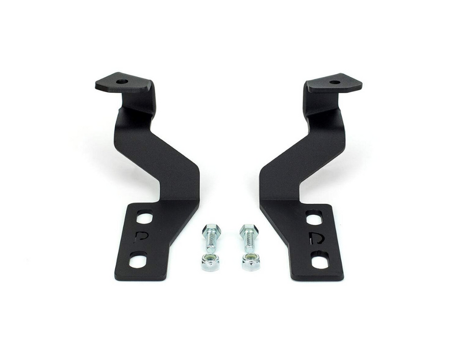 2014-2020 Toyota Tundra Low Profile Ditch Light Brackets/Combo - Cali Raised LED
