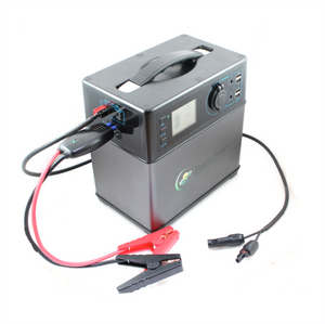 400 W-hr Power Pack (BPP-M400) with charging cables attached - Cali Raised LED