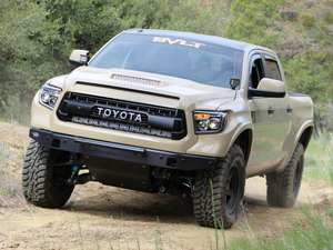 2014-2020 Toyota Tundra 42 Hidden Grille Curved LED Light Bar Brackets/Combo - Cali Raised LED