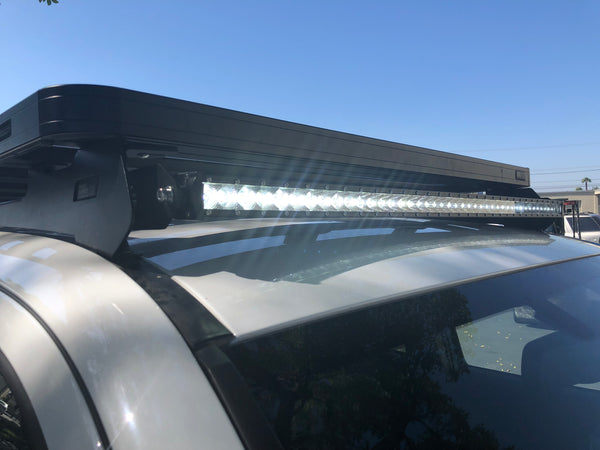 Front Runner Slimline Roof Rack LED Bar Combo - Cali Raised LED