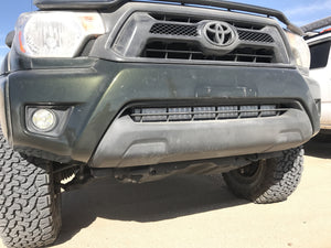 "2005-2015 Toyota Tacoma 32"" Lower Bumper Hidden LED Light Bar Brackets/Combo - Cali Raised LED"