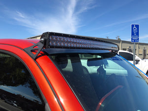 "2005-2020 Toyota Tacoma 52"" Curved LED Light Bar Roof Brackets/Combo - Cali Raised LED"