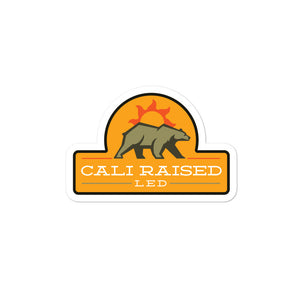 Sunrise Special Cali Raised LED Bear Sticker