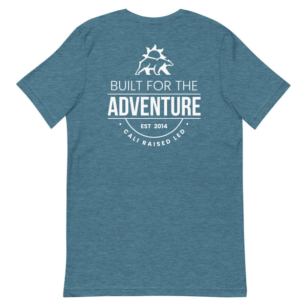 Built for Adventure Est. 2014 | White Print