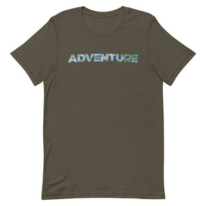 Topography Adventure Short-Sleeve Unisex T-Shirt