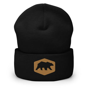 Cali Raised LED - Bear Cuffed Beanie