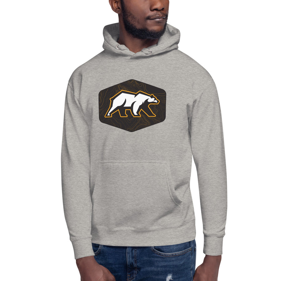 Topography Cali Raised LED Bear - Warm Hoodie