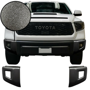 2014-2020 Toyota Tundra Front Bumper Cover Set - Cali Raised LED