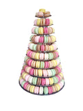 Vegan Macarons Tower (large)