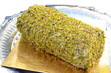 Pistachio Swiss Roll