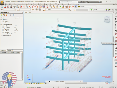 What is the typical Workflow in Autodesk Robot Structural