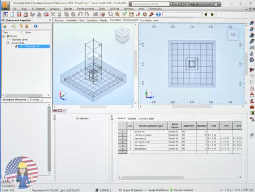 What is the typical Workflow in Autodesk Robot Structural Analysis