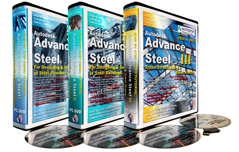 Autodesk Advance Steel 2019 to 2021. Full Package