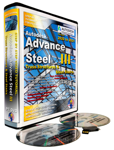 Autodesk Advance Steel Level  III | Trusses & Stairs | 2020 - 2021