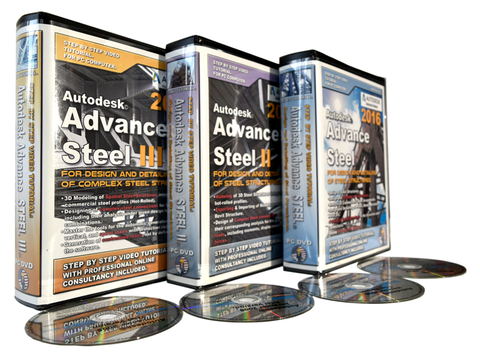 Autodesk Advance Steel. Full Package